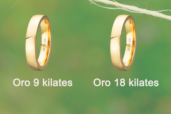Diferencia entre oro de 18 y oro de 9 kilates joyer 237 a cubelos