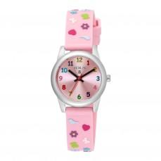 500350150 Reloj Cookies de acero con correa de silicona rosa Reloj Cookies de acero con correa de silicona rosa 79€