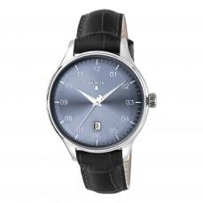 500350355 Reloj 1920 azul de piel Reloj 1920 de acero con correa de piel negra 139€