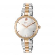 600350145 Reloj Julie bicolor acero/IP rosado 229€