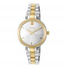 600350155 Reloj Julie bicolor acero/IP dorado 229€