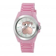 600350205 Reloj Drive Fun Faces de silicona rosa Reloj Drive Fun Face de acero con correa de silicona rosa 119€