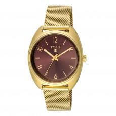 600350255 Reloj Retro de acero IP dorado 175€