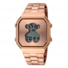 600350290 Reloj D-Bear SQ de acero IP rosado 169€