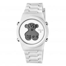 600350325 Reloj D-Bear Round Digital de silicona blanca 85€