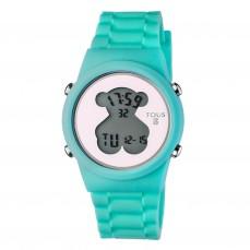 600350330 Reloj D-Bear Round Digital de silicona turquesa 85€